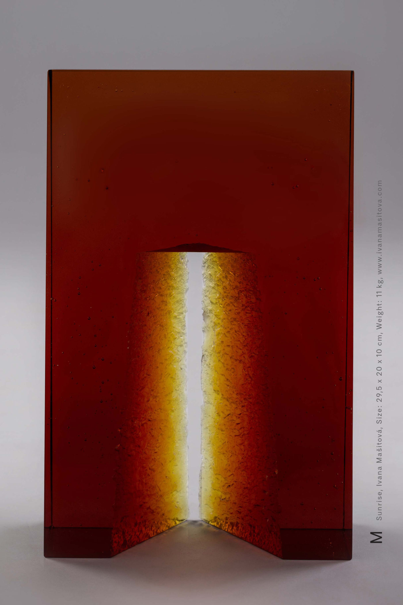 Vychod-slunce_Sunrise,29,5x20x10cm,11kg