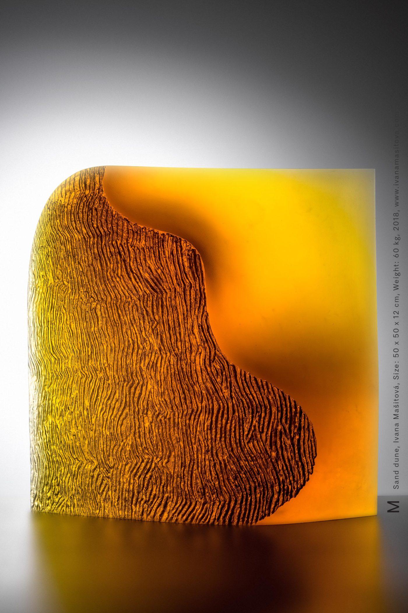 Pisecna-duna_Sand-dune,50x50x12cm,60kg,2018-2